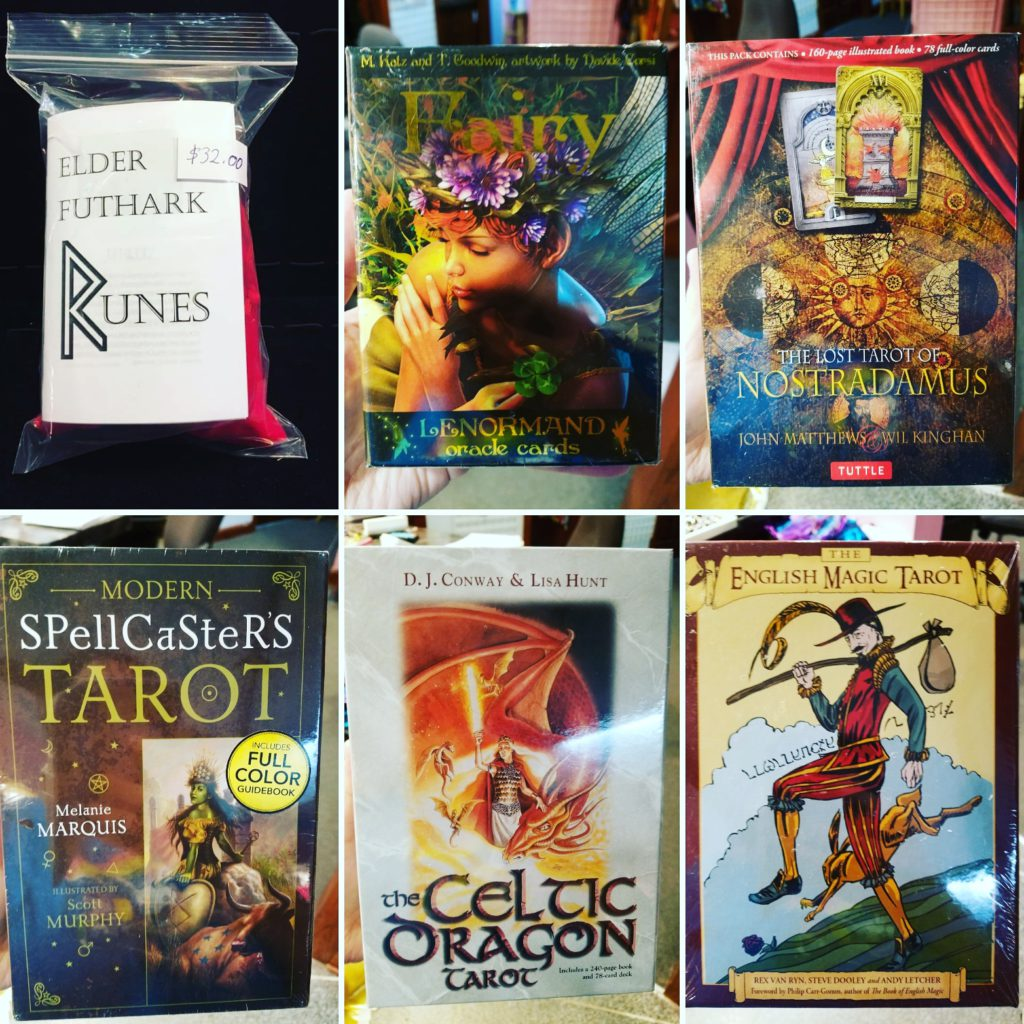 New Tarot ,Rune & Oracle shipment in at the Shop!!!! – Des Moines