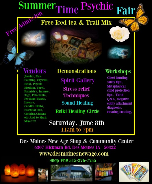 Des Moines New Age Shop and community Center – Page 3 – ~Community